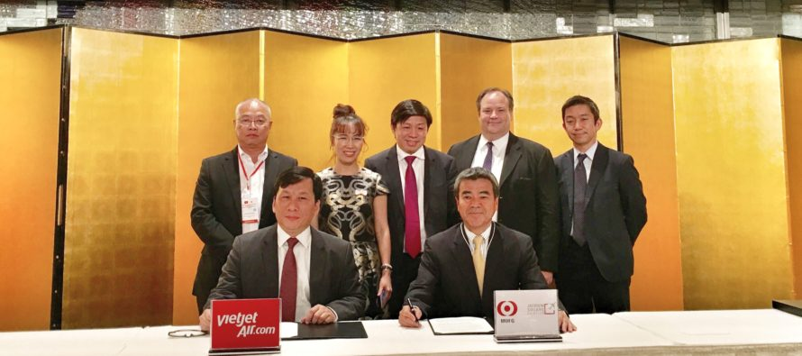 Vietjet and Mitsubishi UFJ agree financing for three A321s