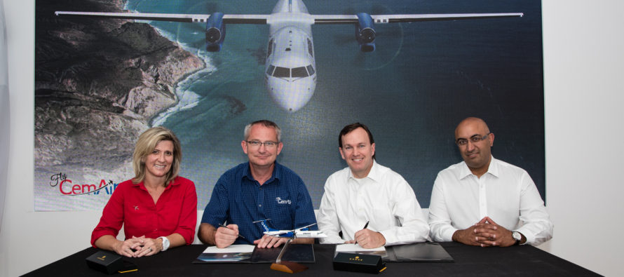 Bombarider signs LOI with CemAir for two Q400s